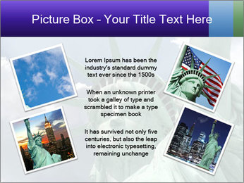 Famous Statue Of Liberty PowerPoint Template - Slide 24