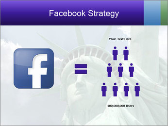 Famous Statue Of Liberty PowerPoint Template - Slide 7