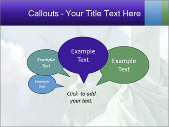 Famous Statue Of Liberty PowerPoint Template - Slide 73