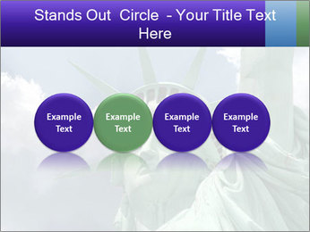 Famous Statue Of Liberty PowerPoint Template - Slide 76