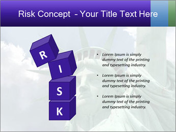 Famous Statue Of Liberty PowerPoint Template - Slide 81