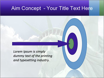 Famous Statue Of Liberty PowerPoint Template - Slide 83
