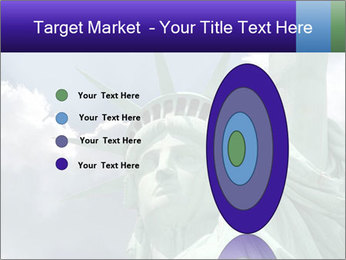 Famous Statue Of Liberty PowerPoint Template - Slide 84