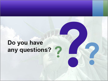 Famous Statue Of Liberty PowerPoint Template - Slide 96