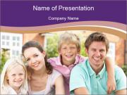 American Family PowerPoint Templates