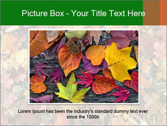 October Leaves PowerPoint Template - Slide 15