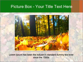 October Leaves PowerPoint Templates - Slide 16