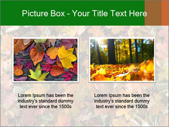 October Leaves PowerPoint Template - Slide 18