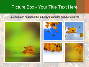 October Leaves PowerPoint Template - Slide 19