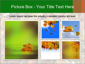 October Leaves PowerPoint Templates - Slide 19