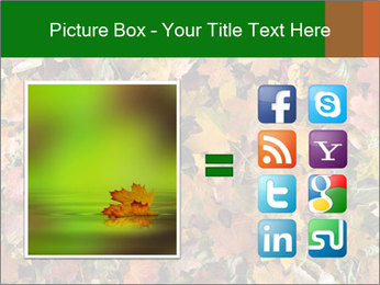October Leaves PowerPoint Template - Slide 21