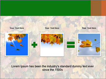 October Leaves PowerPoint Template - Slide 22
