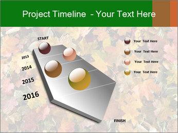 October Leaves PowerPoint Templates - Slide 26