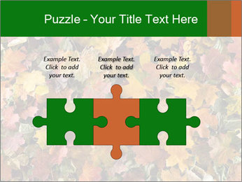 October Leaves PowerPoint Template - Slide 42