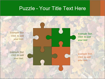 October Leaves PowerPoint Template - Slide 43