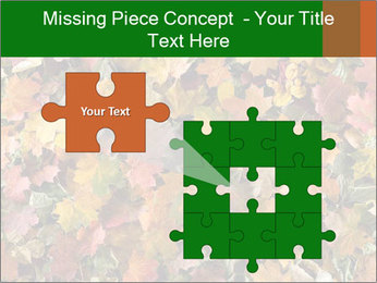 October Leaves PowerPoint Template - Slide 45