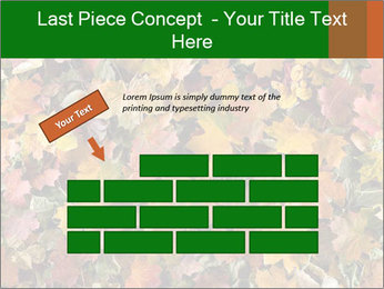 October Leaves PowerPoint Template - Slide 46