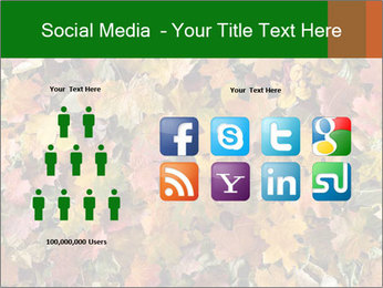 October Leaves PowerPoint Template - Slide 5