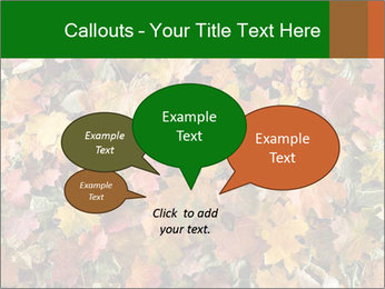October Leaves PowerPoint Template - Slide 73