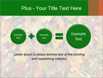 October Leaves PowerPoint Template - Slide 75