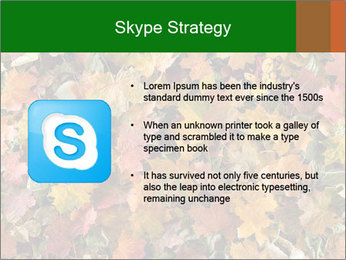 October Leaves PowerPoint Template - Slide 8