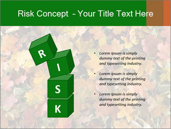 October Leaves PowerPoint Template - Slide 81