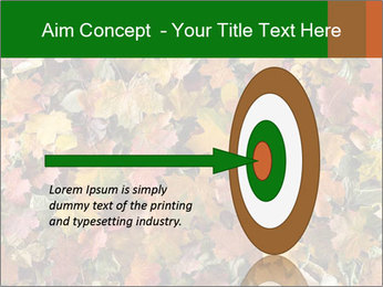 October Leaves PowerPoint Template - Slide 83