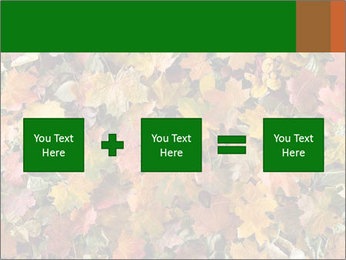 October Leaves PowerPoint Template - Slide 95