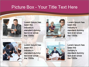 Young Business Team PowerPoint Template - Slide 14