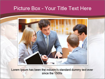 Young Business Team PowerPoint Template - Slide 16