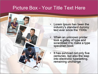 Young Business Team PowerPoint Template - Slide 17