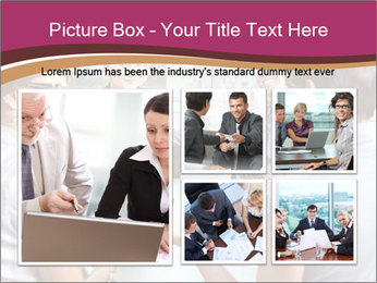 Young Business Team PowerPoint Template - Slide 19