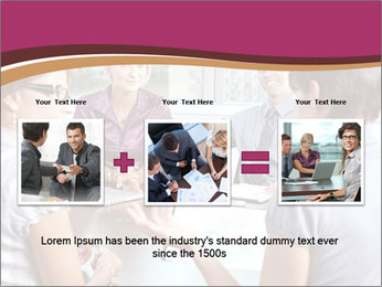 Young Business Team PowerPoint Template - Slide 22