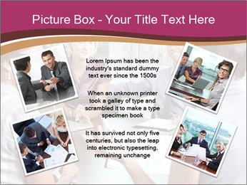 Young Business Team PowerPoint Template - Slide 24