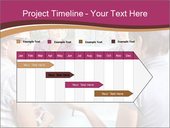 Young Business Team PowerPoint Template - Slide 25