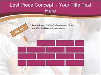 Young Business Team PowerPoint Template - Slide 46