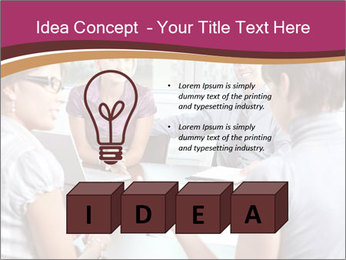 Young Business Team PowerPoint Template - Slide 80