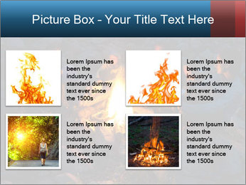 Summer Fire Camp PowerPoint Template - Slide 14