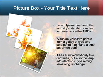 Summer Fire Camp PowerPoint Template - Slide 17