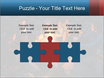 Summer Fire Camp PowerPoint Template - Slide 42