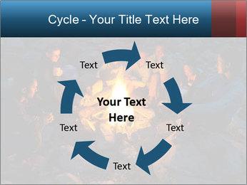 Summer Fire Camp PowerPoint Template - Slide 62