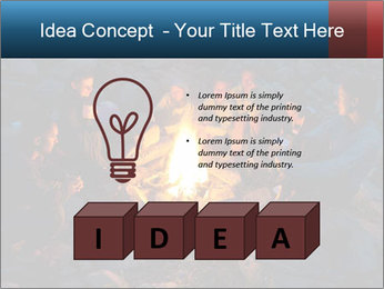 Summer Fire Camp PowerPoint Template - Slide 80