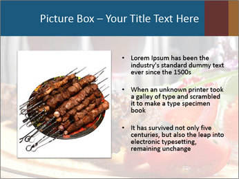 Grilled Kebab PowerPoint Templates - Slide 13