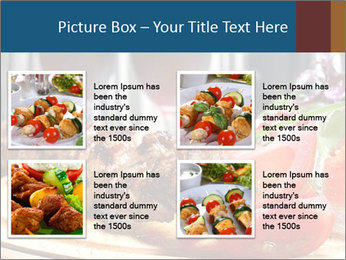 Grilled Kebab PowerPoint Templates - Slide 14