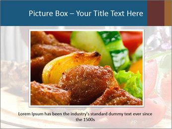 Grilled Kebab PowerPoint Templates - Slide 15