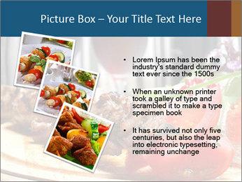 Grilled Kebab PowerPoint Templates - Slide 17