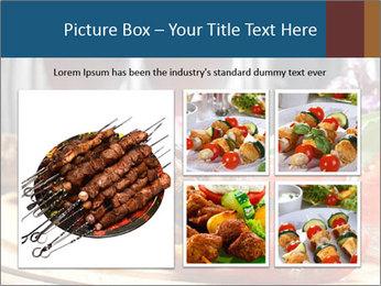Grilled Kebab PowerPoint Templates - Slide 19