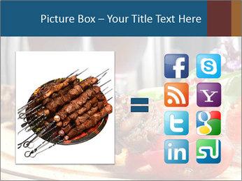 Grilled Kebab PowerPoint Templates - Slide 21