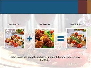 Grilled Kebab PowerPoint Templates - Slide 22