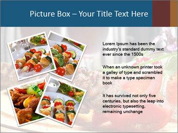 Grilled Kebab PowerPoint Templates - Slide 23